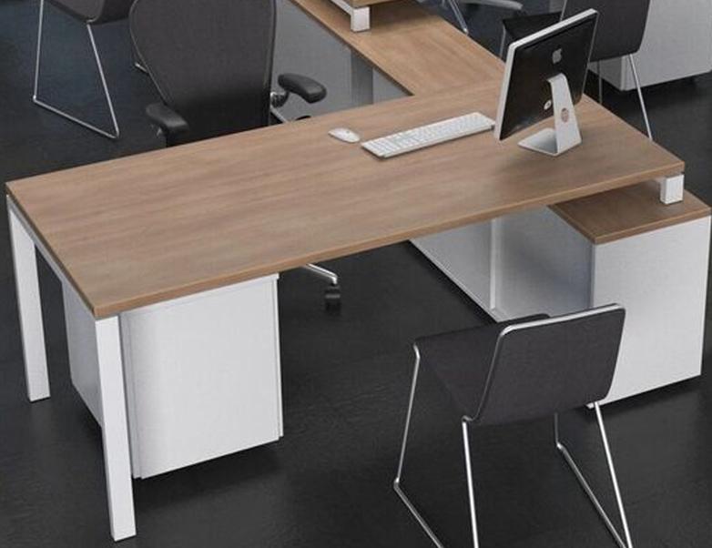 mesa sobre m dulo una mesa de oficina ergon mica